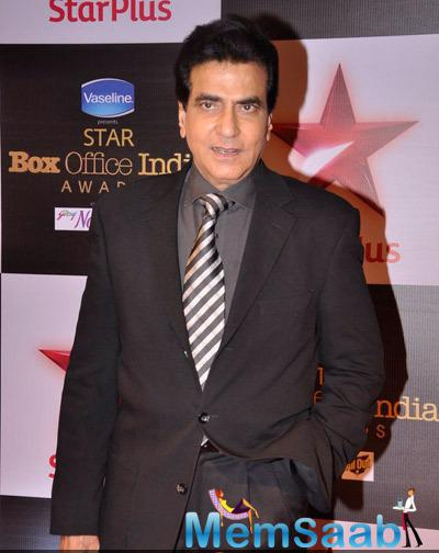 Jeetendra Attend The Star Plus Box Office Awards 2014