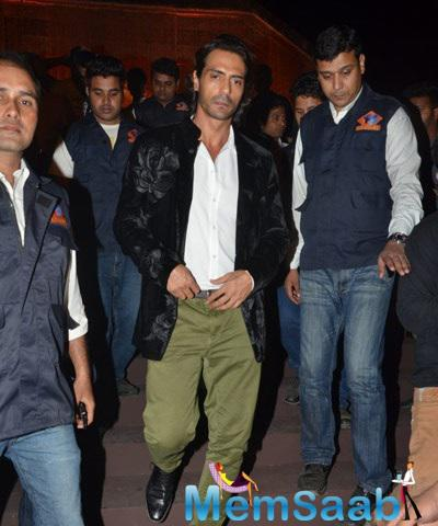 Arjun Rampal On Day 5 Of Wills Fashion Week For Rohit Bal Show