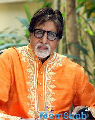 Amitabh Bachchan Interact With Media At His Office Janak In Mumbai