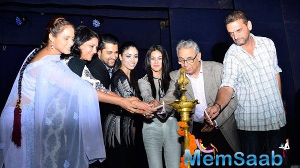 Celebs Light The Lamp At Breast Cancer Awareness Programme