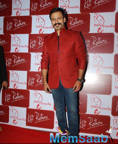 Bollywood Actor Vivek Oberoi Strike A Pose For Shutterbug At The Launch Of Kirti Rathore Store Menswear Studio