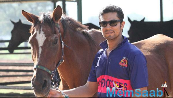 Brand Ambassador Randeep Hooda Launched His Polo Team In Jaipur.