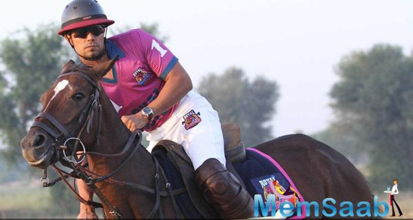 Randeep Hooda Launches His Polo Team In Jaipur