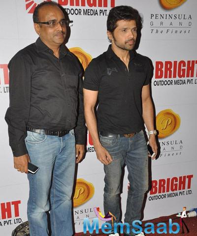 Himesh Reshammiya During 34th Anniversary Party Of Bright Outdoor Advertising