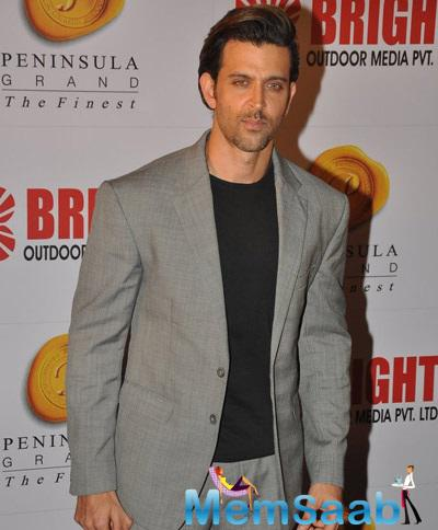 Hrithik Roshan Looks Dapper At 34th Anniversary Party Of Bright Outdoor Advertising