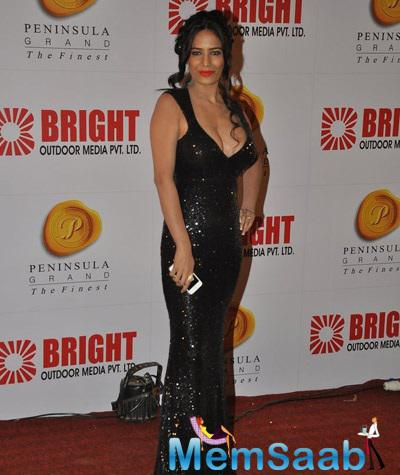 Poonam Pande Strikes A Hot Pose At Bright Advertising Party