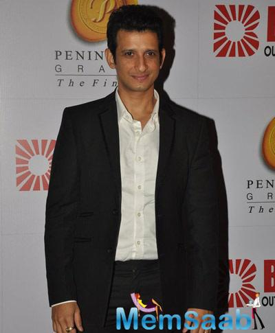 Sharman Joshi During 34th Anniversary Party Of Bright Outdoor Advertising