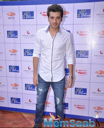 Divyendu Spotted Tot Promote His Upcoming Movie At The Launch Of  Braille And Audio Menu For The Blind