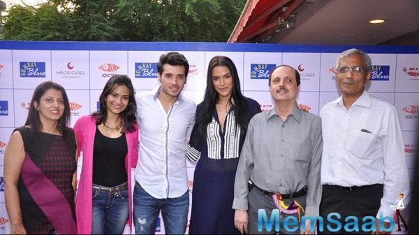 Neha, Aditi And Divyendu Promoted Their Upcoming Movie Ekkees Toppon Ki Salaami