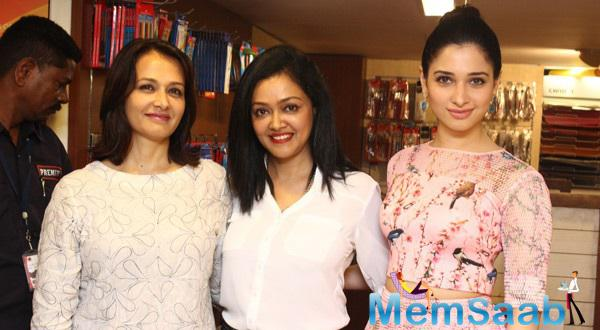 Tamannaah And Amala Launched Age Erase Book By Dr.Rashmi Shetty