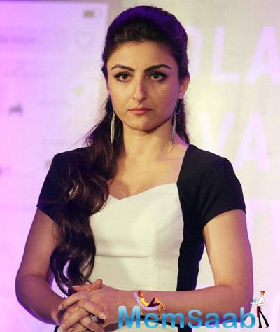 Soha Ali Khan During The Launch Of Ola Cabs App