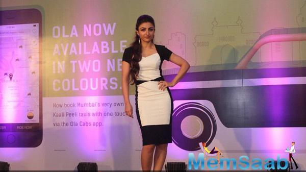 Soha Ali Khan Launches Ola Cabs Smart App Photo