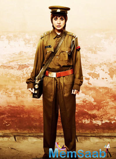 Anushka's Lady Police Avatar In The New Motion Poster Of  P.K.