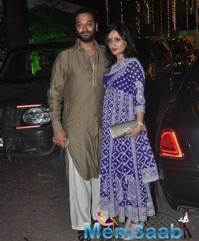 Anu Dewan Attended Shilpa Shetty's Diwali Bash