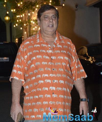 David Dhawan Attend Shilpa Shetty And Raj Kundra's Diwali Celebrations