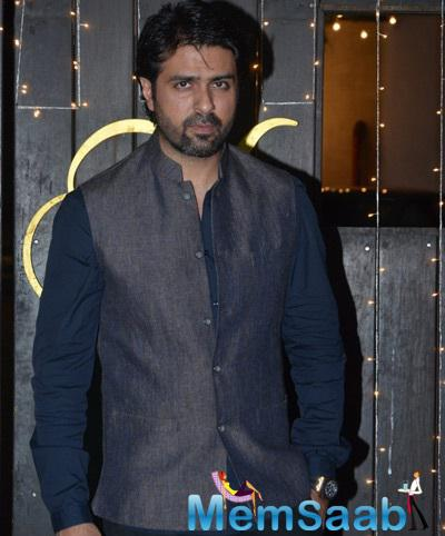 Harman Baweja Looking Handsome In His Outfit At Shilpa Shetty's Diwali Bash