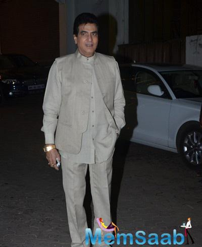 Veteran Actor Jitender Also Attended Shilpa And Raj's Diwali Party