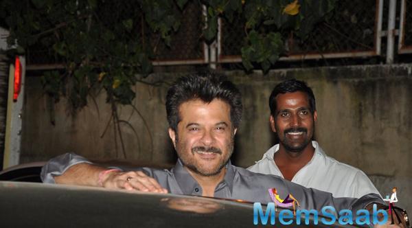 Anil Kapoor Smiling Pose At A Private Diwali Bash