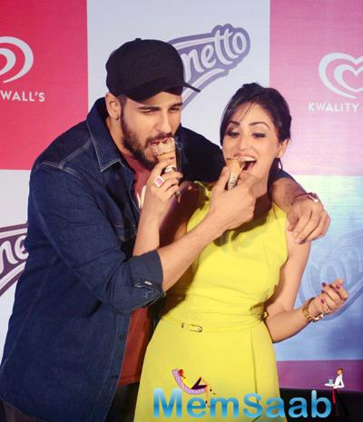 Yami Gautam And Sidharth Malhotra Go Lovey-Dovey At A Promotional Event
