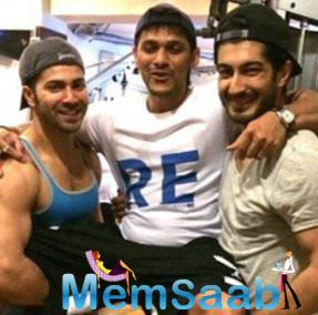 Varun and Mohit Marwah With Thier Trainer Prashant