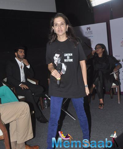 Anupama Chopra Present At MAMI Film Round Table Interactions