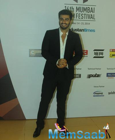 Arjun Kapoor Attend The MAMI Film Round Table Interactions