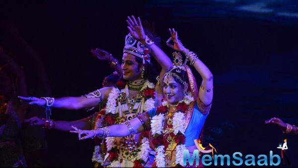 Hema Malini Performed Ballets In Praise Of Krishna