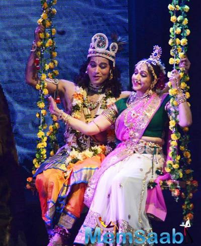 Hema Malini Performed A New Dance Ballet Named Radha Rashbihari