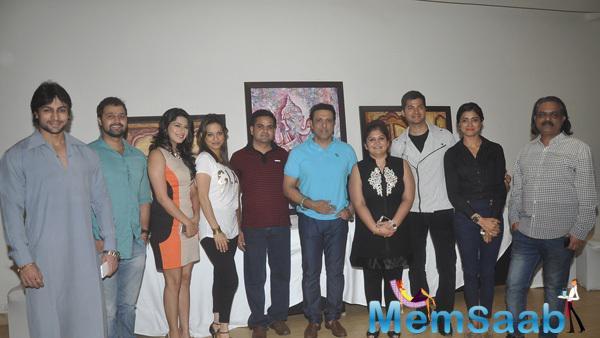 Shaleen,Mudasir,Poonam,Preety,Nitin,Govinda,Dr.Seema,Prashantt,Richa And Ashwini Posed At A Special Preview Of Dr.Seema Chaudhary And Nitin Chaudhary Show