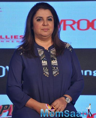 HNY Director Farah Khan Attend The HNY Mobile Game Success Celebration