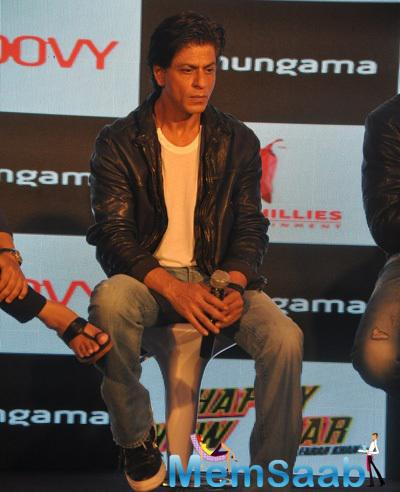 Shah Rukh Khan At HNY Mobile Game Success Celebration