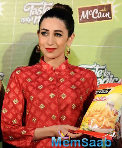 Karisma Kapoor Bowled Over With Alluring Red Look At Launch Event