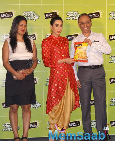 Karisma Kapoor Launched The Food Brand Of Mccain