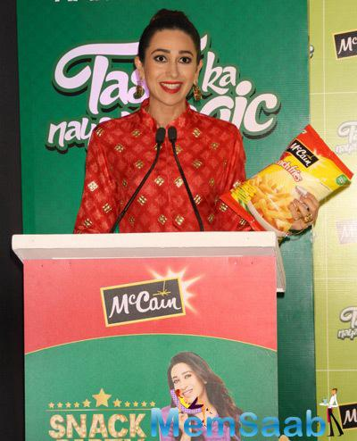 Karisma Kapoor Spoke About Mccain Food During The Launch Of Mccain Food Brand