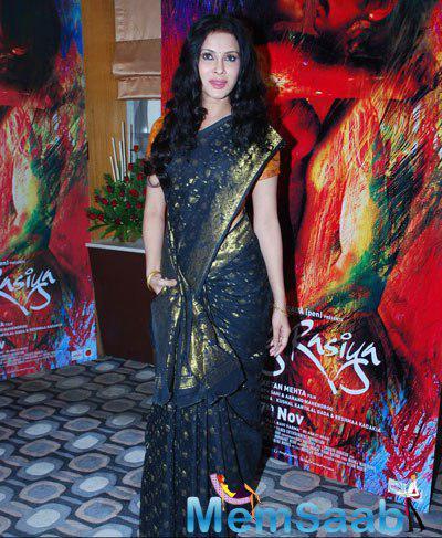 Bong Beauty Nandana Sen In Saree Beautiful Look During The Promotional Event Of Film Rang Rasiya