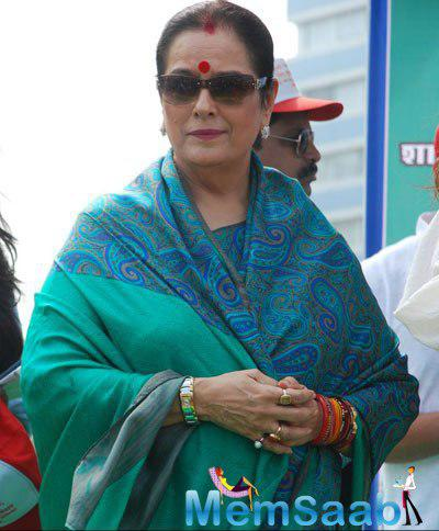 Poonam Sinha Nice Traditional Look During 4th Inauguration Mega Cleanliness Drive