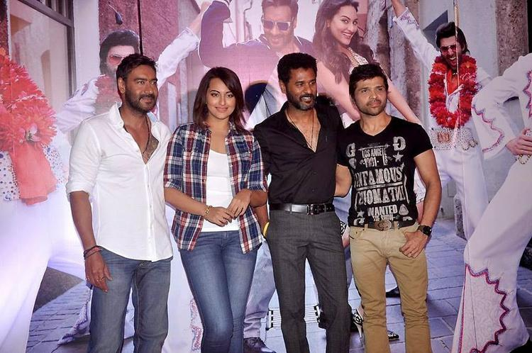Ajay,Sonakshi,Prabhu And Himesh Launched The Keeda Song From Action Jackson