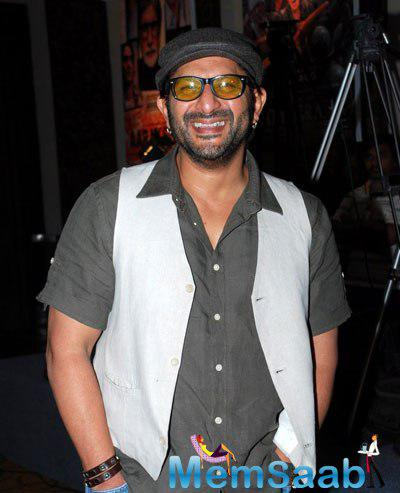 Arshad Warsi Flashes Smile At Prakash Jha 5 New Films Launch Event