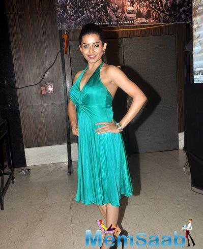 Celeb Guest Strikes A Pose During Prakash Jha 5 New Films Launch Event
