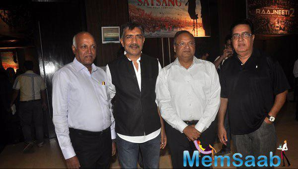 Prakash Jha Posed With Celeb Guests At Prakash Jha 5 New Films Launch Event