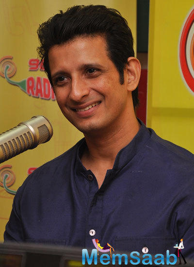 Sharman Joshi Promotes Super Nani At 98.3 FM In Mumbai
