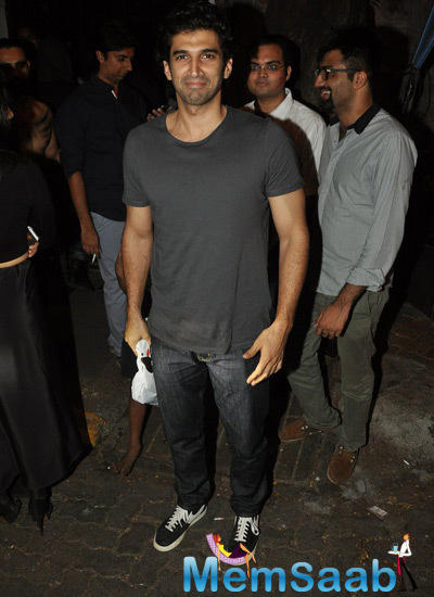 Aditya Roy Kapur Posed For Camera At Nido Halloween Night Bash