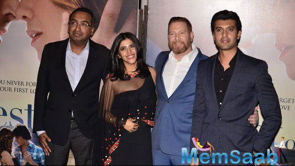 Ekta Kapoor Posed At Best Of Me India Premiere Event