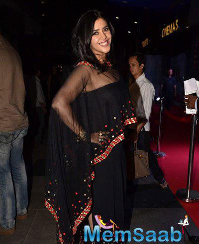 Ekta Kapoor Smiling Pose At Best Of Me India Premiere Event