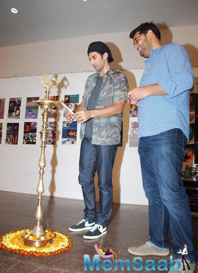 Aditya Roy Kapur And Kunaal Roy Kapur Inaugurate A Ceramic Pottery Exhibition In Mumbai