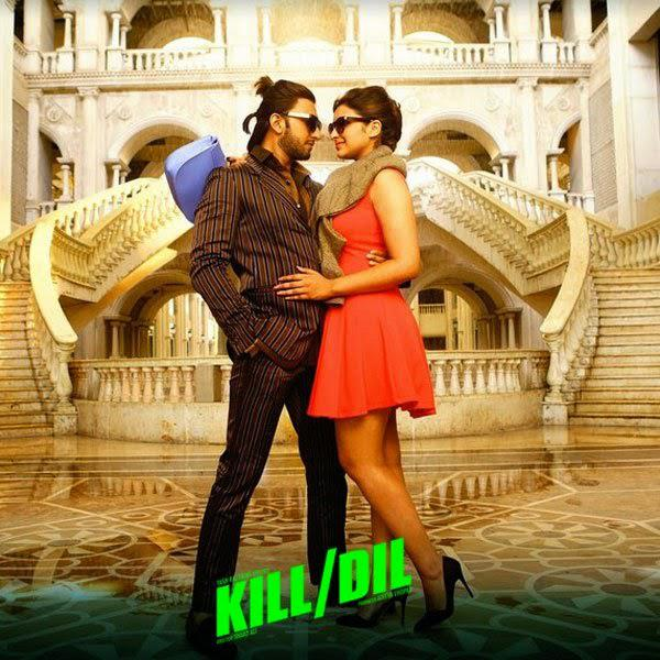 Ranveer Singh And Parineeti Chopra Dancing Pose Wallpaper Still