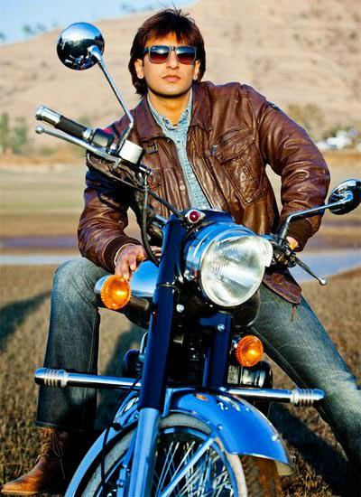 Ranveer Singh Handsome Look Pose With A Bike Still From Kill Dill Movie