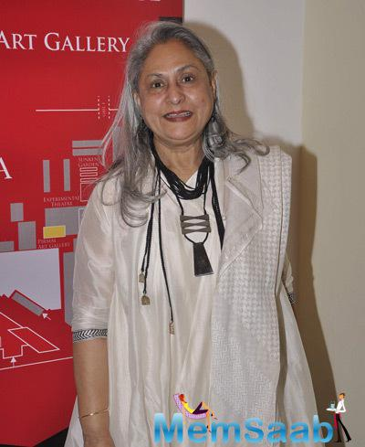 Jaya Bachchan Graced At Tata Literature Fest 2014 Press Meet
