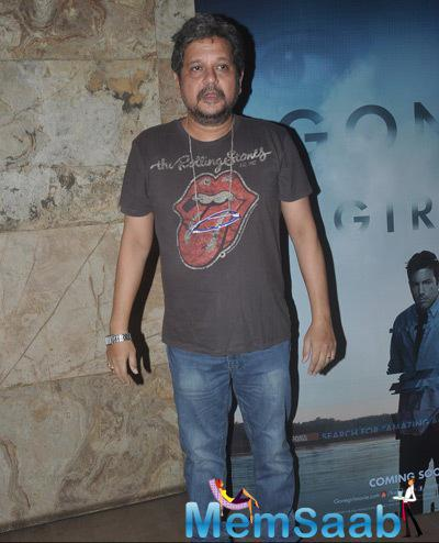 Amole Gupte Posed During The Screnning Of Gone Girl