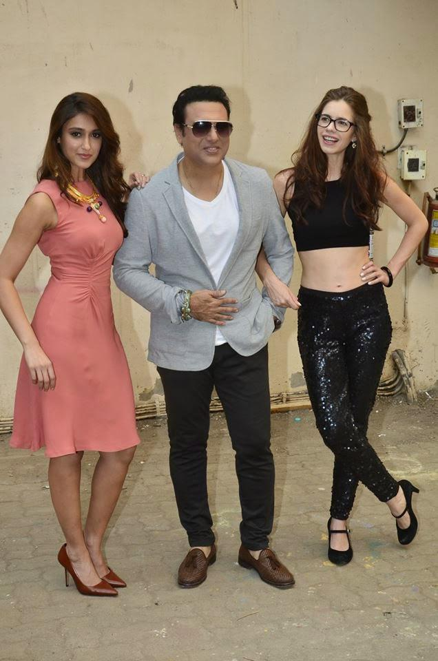 Ileana,Govinda And Kalki Strikes A Sizzling Pose For Their Upcoming Movie Happy Ending